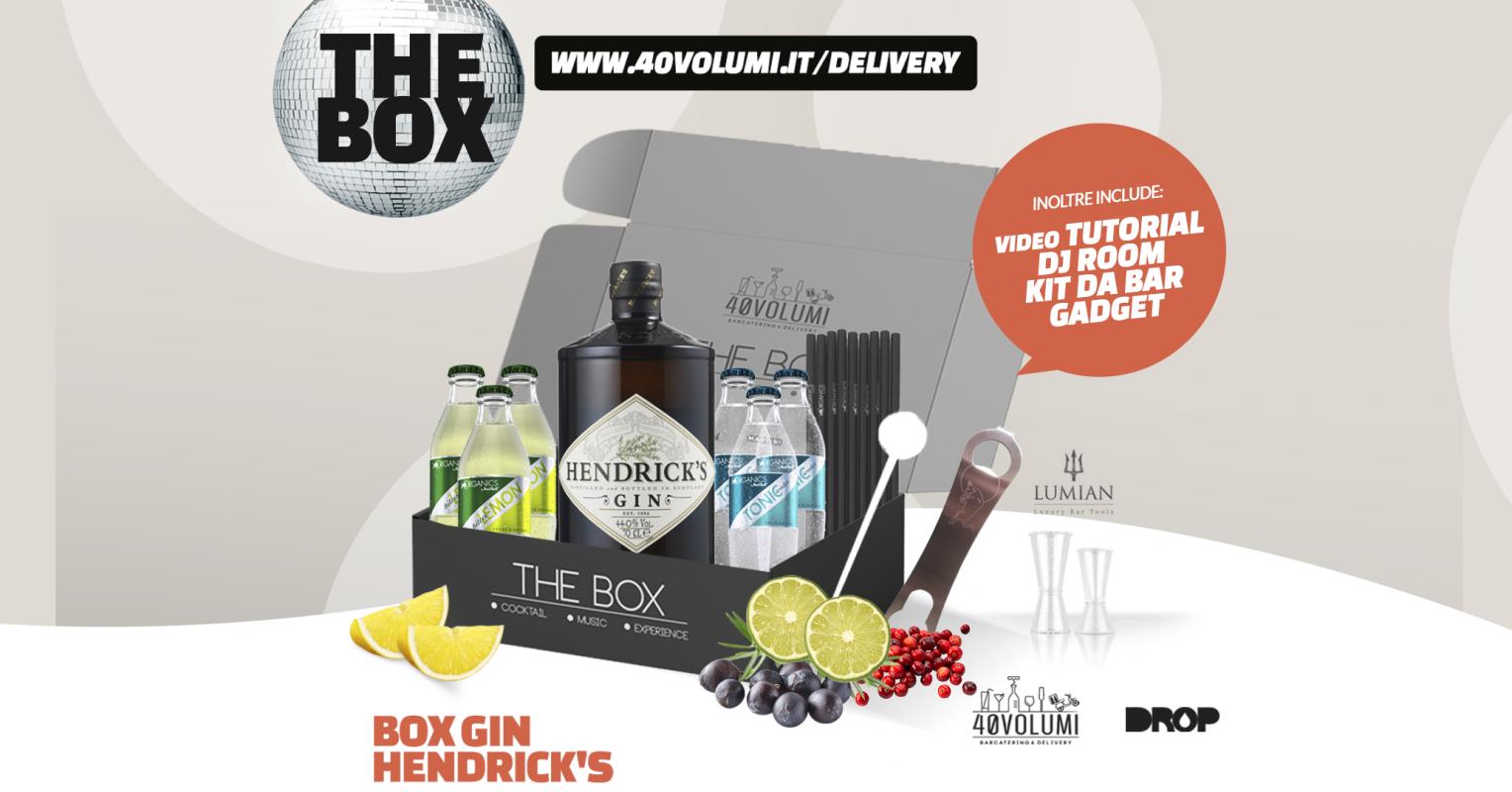 box gin hendrick's per 40 volumi