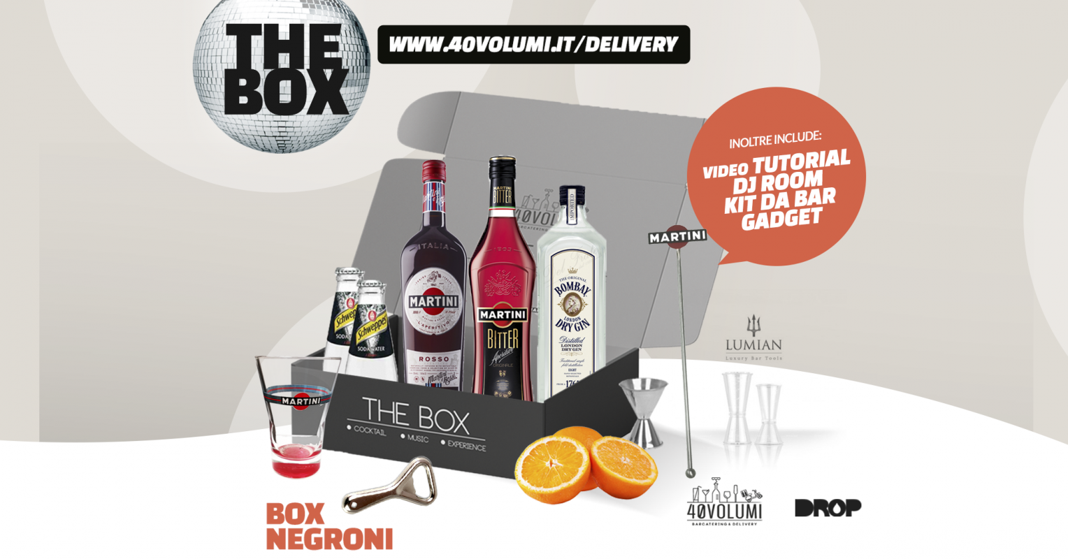 box negroni per 40 volumi