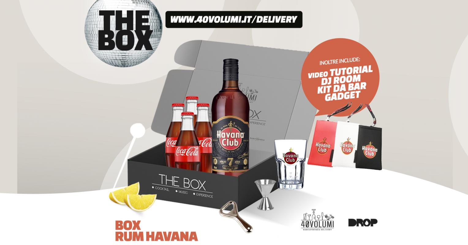 box rum havana per 40 volumi