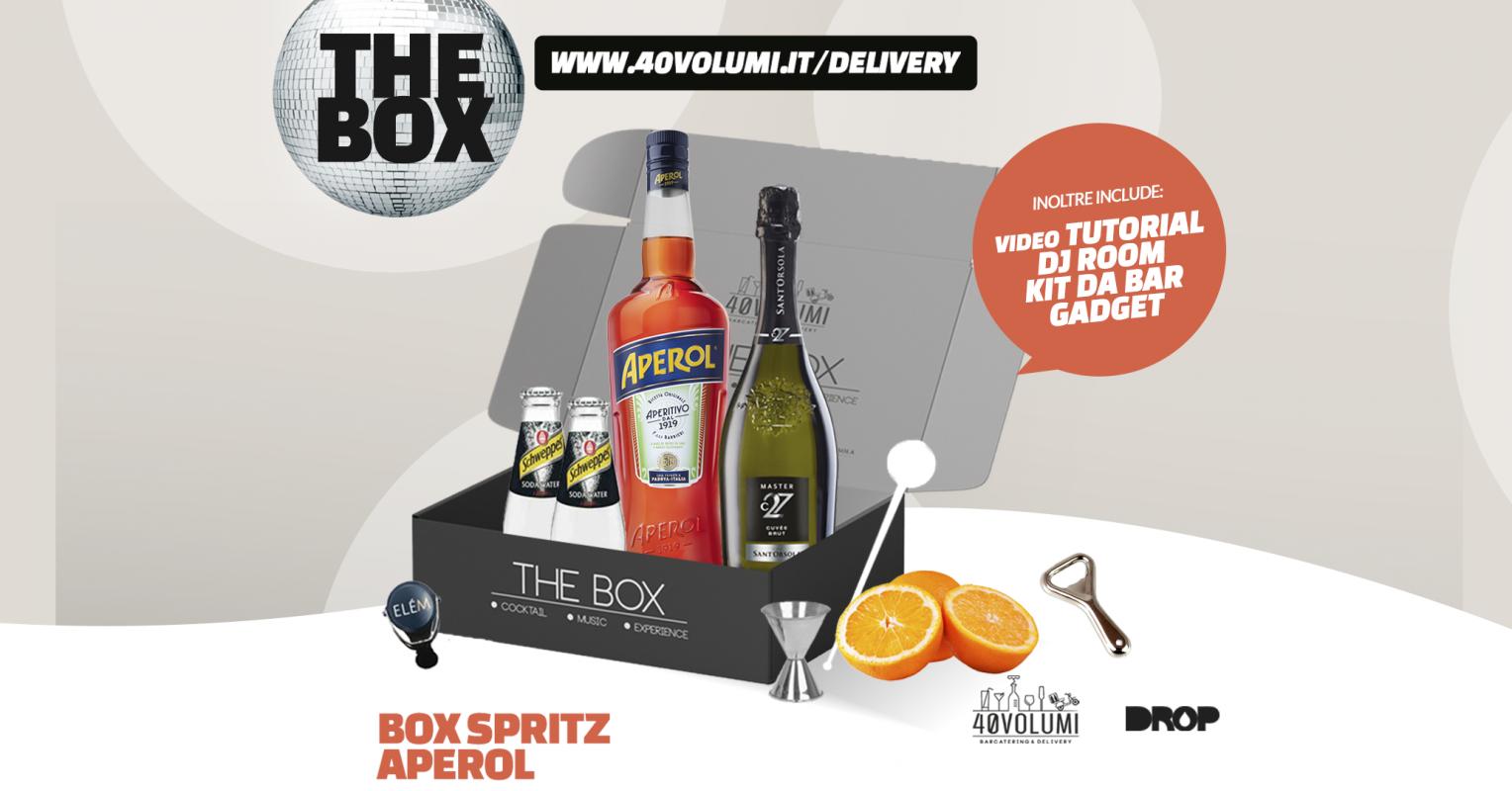 box spritz aperol per 40 volumi