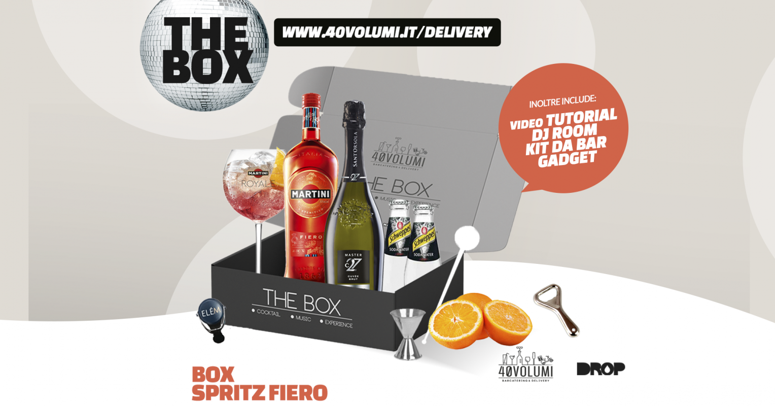 box spritz fiero per 40 volumi