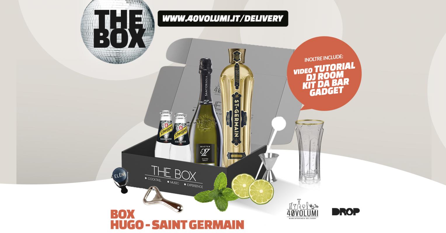 box hugo saint germain per 40 volumi