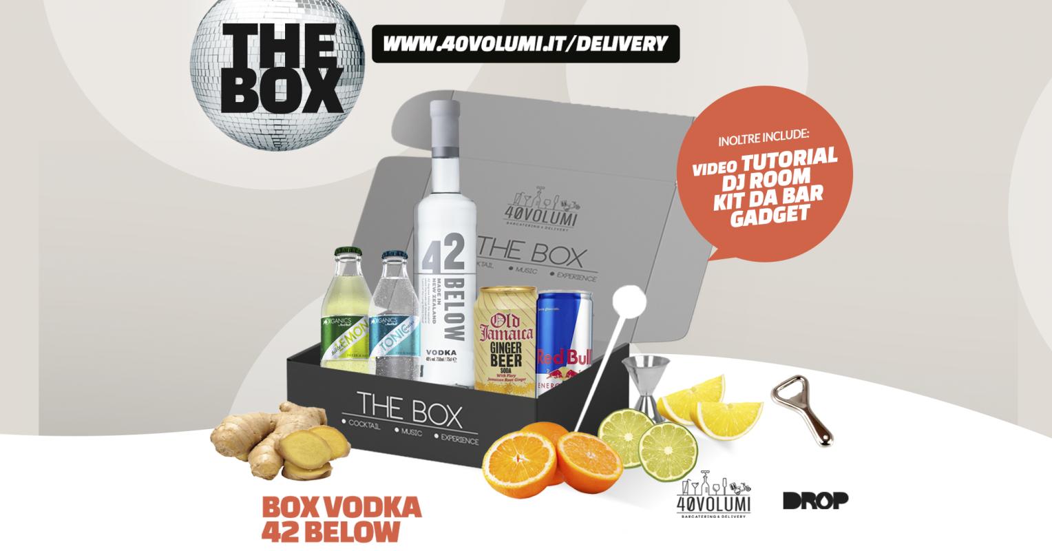 box vodka 42 below per 40 volumi