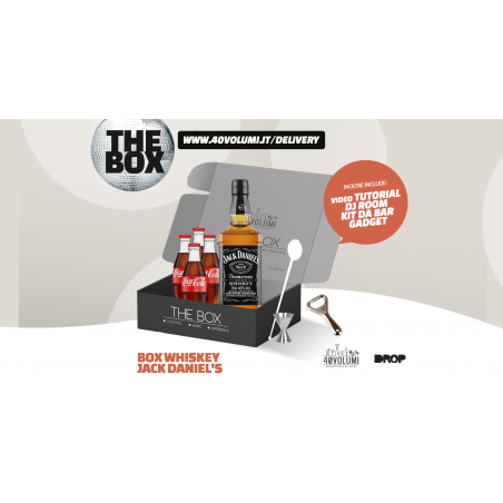 box whiskey jack daniel's per 40 volumi