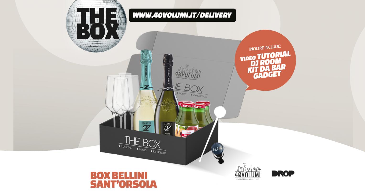 box bellini per 40 volumi